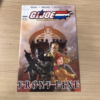 G.I.JOE A REAL AMERICAN HERO FRONTLINE#1