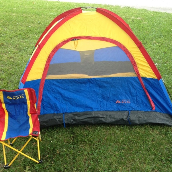 Free Ozark Trail Kids Tent W Matching Chair Other