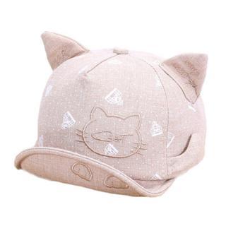 Lawadka Newborn Hats For Girls Cute Cat Baby Hat Girls Boys Caps Infant Summer Sun Hat With Ear Be