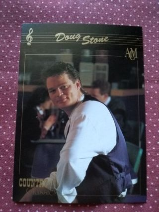 Country Classics Trading Card Doug Stone