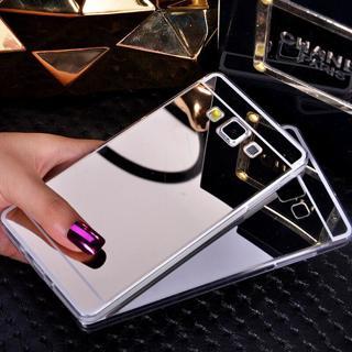 Soft Mirror Back Cover Case For Samsung Galaxy J1 J3 J5 J7 2015 J120 J320 J710 J2 2016 J720 J520 J
