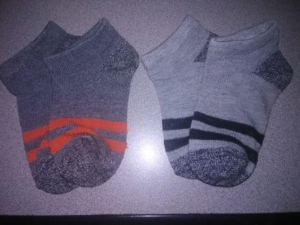 NEW Striped Toddler Boys Socks 12-18 Mons