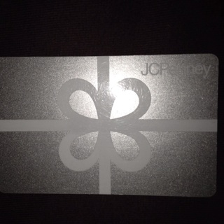 $5.00 JCPenney Gift Card