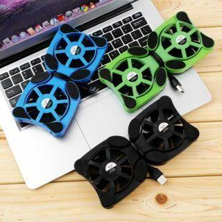 USB Port Mini Octopus Notebook Fan Cooler Cooling Pad