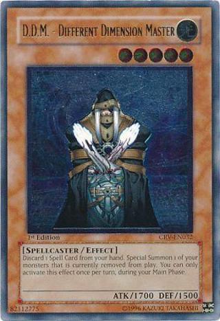 YUGIOH CARD D.D.M. - Different Dimension Master CRV-EN032 1st Edition Cybernetic Revolution Singles