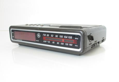 free ge digital clock radio alarm alarm clocks digital alarm clocks radio alarm clock. Black Bedroom Furniture Sets. Home Design Ideas