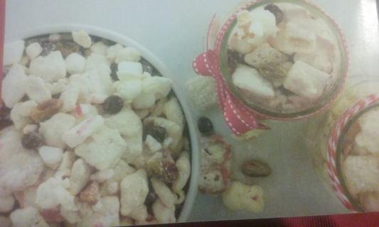 Candy Cane Trail Mix Recipe