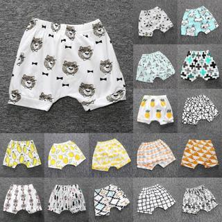 Kids Baby Boy Girl Casual Shorts Pants Toddler Infant Harem Jogger Trouser 6M-4Y