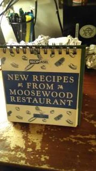 new recipes from moosewood restaurant   used paperback with its own stand