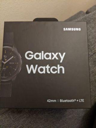 Samsung Galaxy watch Bluetooth LTE 42 mm midnight black brand new sealed