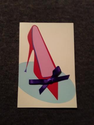 Shoe Notecards