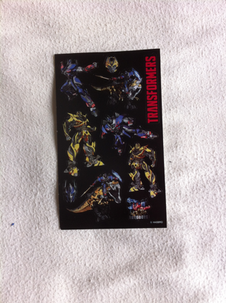 Marvel Transformer Stickers