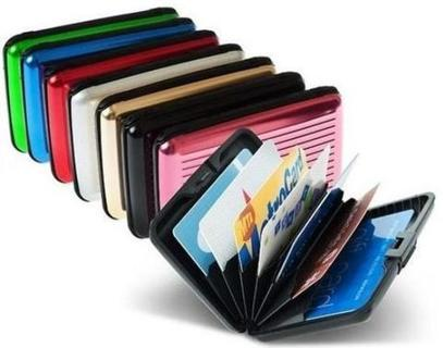 new Aluminum Wallet HARD Money Case