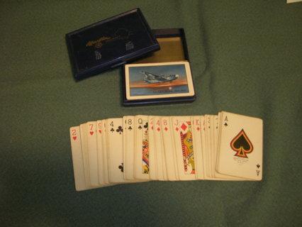 Vintage Airplane Playing Cards (((2-Decks)))
