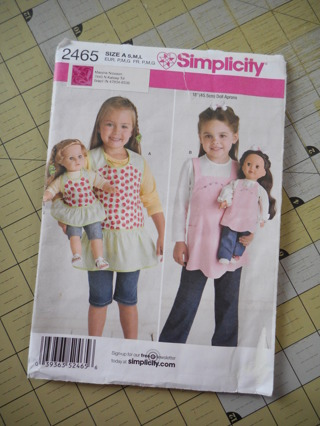 Dolly and Me pattern