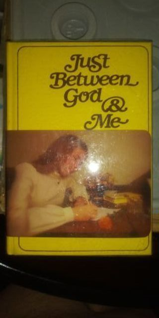 Just Between God and Me Book