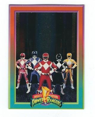 1994 Power Rangers Special FOIL Card. GEM MINT!!!