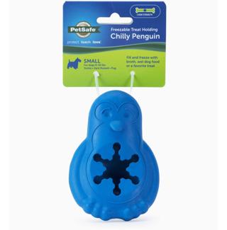 PetSafe Chilly Penguin Treat Holding Dog Toy