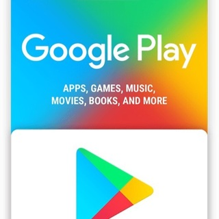 Google Play Gift Cards $20 2 cards worth $10 each