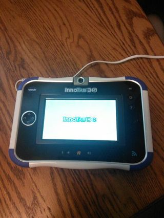 VTech Innotab 3S kids learning tablet has WiFi and charger and cartridge