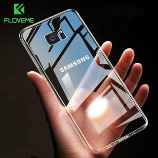 FLOVEME Case For Samsung Galaxy Note 9 8 S9 S8 Plus S7 Edge HD Clear Soft TPU Phone Cases For Sams