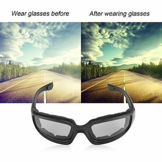 Motorcycle Glasses Windproof Dustproof Eye Glasses Goggles Outdoor Glasses XW