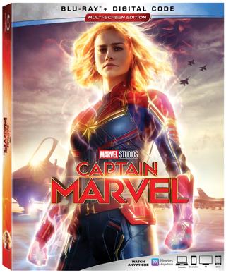 Captain Marvel (Digital HD Download Code Only) **Marvel Comics** **Brie Larson**