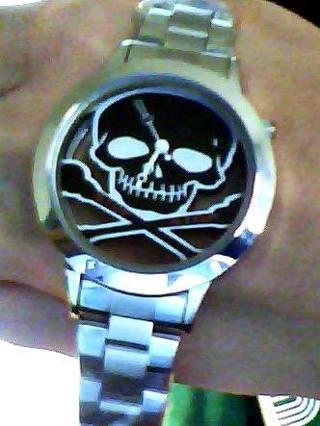 Skull Mens Watch