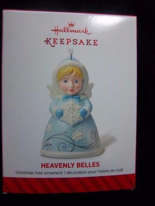 """NEW - $17.95 Retail ~ Hallmark Keepsake """"Heavenly Belles"""" Blue Dress  2nd in Heavenly Belles Series"""