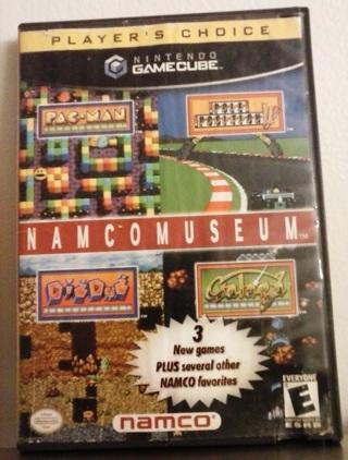Namco Museum – PLAYERS CHOICE - [Nintendo GAMECUBE, 2002]
