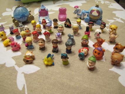 42 Squinkies (Disney, Barbie, animals) plus more lot
