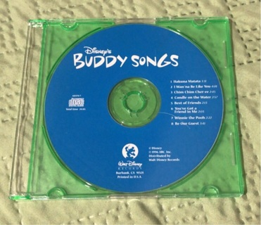 Disney's Buddy Songs from McDonald's