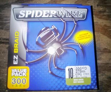 Spiderwire 300yd 10lb Test Fishing Line