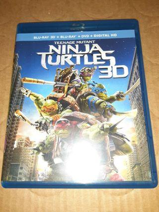 Turtles 3d