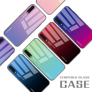 Gradient Tempered Glass Phone Case For Huawei Mate 20 10 P20 Pro Lite Nova 3i 2i 3E 4 Coque Capa F