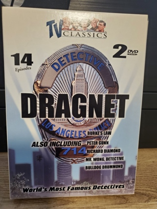 """DVD - """"Dragnet"""" - 2 DVD's - not rated"""