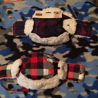Cozy Cap Trapper Hat (large dog)Free Shipping