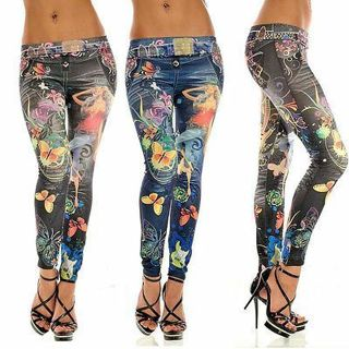 Sexy Women Skinny Jeans Cotton Denim Legging Stretchy Jeggings Pants Pencil Pant