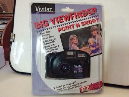Vivitar Big View Easy Point and Shoot Camera