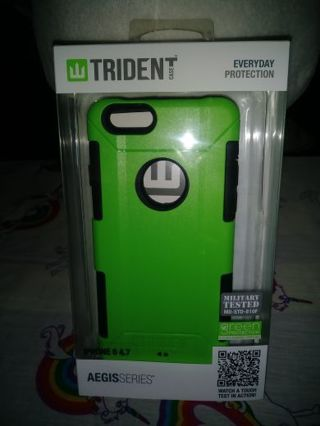 ⚛✨⚛✨⚛BRAND NEW LIMEGREEN & BLACK iPHONE 6 4.7 TRIDENT™ CELLPHONE CASE⚛✨⚛✨⚛AEGIS SERIES®