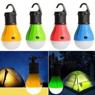 LED Bulb for Fishing Hiking Hut Outdoor Emergency Light Hanging Camping