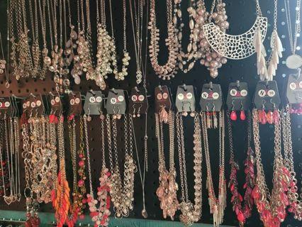 10pc Random Paparazzi necklace lot