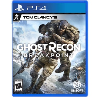 PS4 Tom Clancy's GHOST RECON BREAKPOINT! ⭐️  |  Brand NEW/Sealed!!
