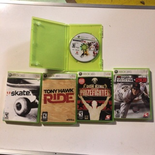 (Lot of 5) Xbox 360 Games