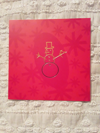 Christmas Cards - Cool Yule Snowman
