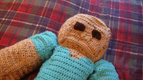 Free Minecraft Zombie Crochet Pattern Crochet Listia