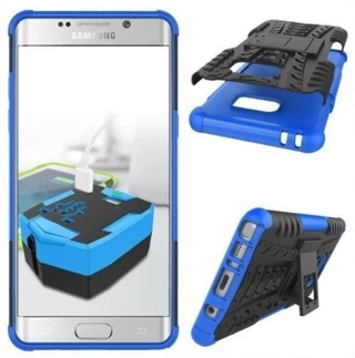 NEW SAMSUNG GALAXY NOTE 7 CELL PHONE CASE HYBRID Scratch-Resistant Shock Absorbent Dual Layer Armor