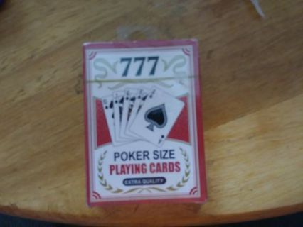 Poker size playing cards
