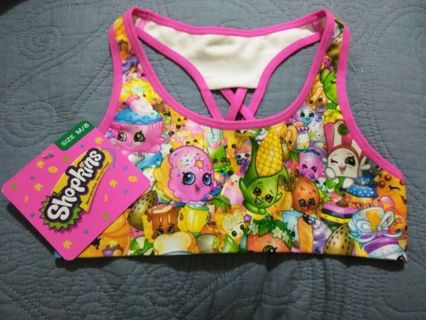 Girl Shopkins Top/Bra
