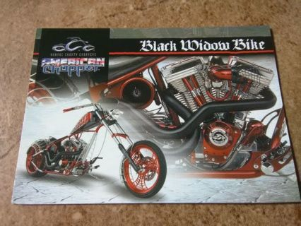 "2004 American Chopper ""Black Widow Bike"" Collection Card #13"